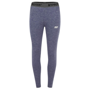 Myprotein Dames Core Leggings - Blue Marl