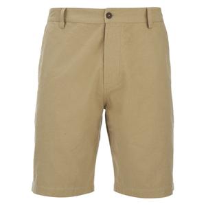 Universal Works Men's Slub Japanese Cotton Deck Shorts - Camel