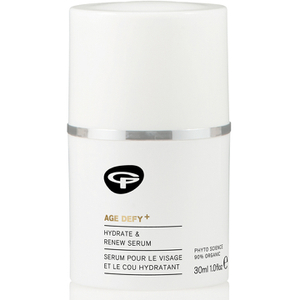 Green People Age Defy+ Hydrate & Renew Face and Neck Serum (30 мл)