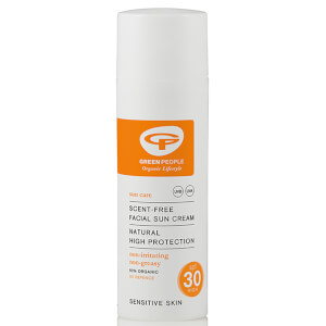 Green People Facial Sun Cream SPF30 (50ml)