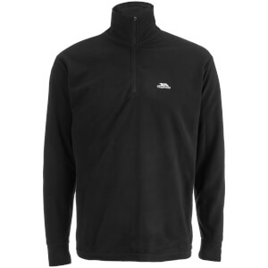 Trespass Men's Masonville Half Zip Fleece Jumper - Black