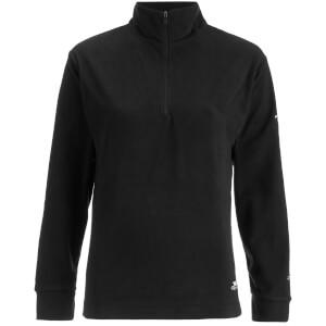 Trespass Women's Louviers Half Zip Fleece Jumper - Black