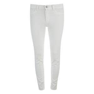 VILA Women's Commit Skinny Jeans - White