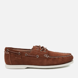 Polo Ralph Lauren Men's Bienne II Suede Boat Shoes - New Snuff