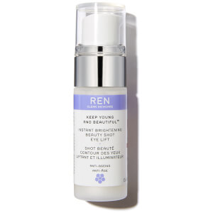 Keep Young and Beautiful? Instant Brightening Beauty Shot Eye Lift de REN (15ml)