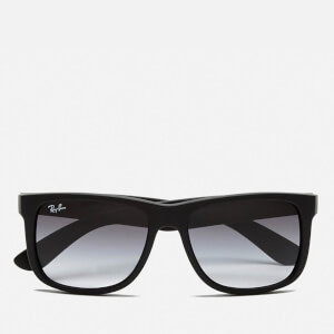 Ray-Ban Justin Rubber Sunglasses 54mm - Black