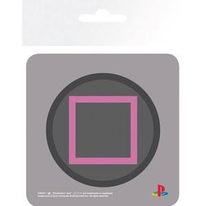 Dessous de Verre Carré Playstation