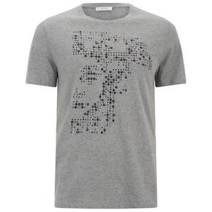 Versace Collection Men's Medusa T-Shirt - Grey