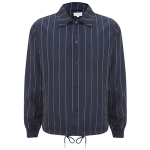 GANT Rugger Men's Pinstripe Coach Jacket - Shadow