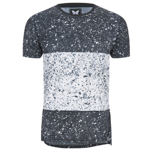 Good For Nothing Men's Heath Speckle T-Shirt - Black