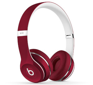 Beats by Dr. Dre: Solo2 Luxe Edition On-Ear Headphones  - Burgundy