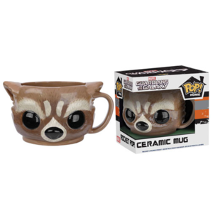 Marvel Guardians of the Galaxy Rocket Raccoon Pop! Home Tasse