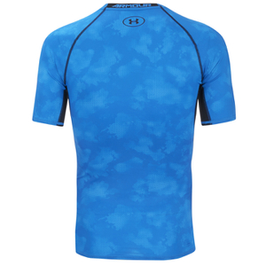 Buy under armour mens heatgear printed short sleeve t for Under armour printed t shirts