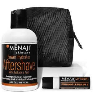 Menaji Power Hydrator and Lip Agent in GREGORY Ditty Bag (Worth £35.76)