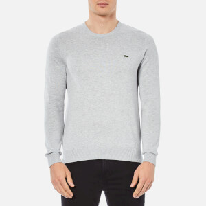 Lacoste Men's Crew Neck Sweatshirt - Grey