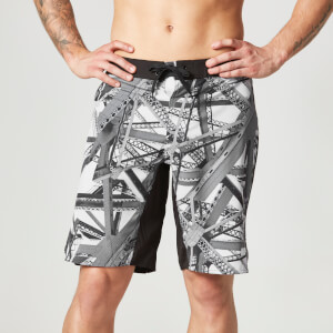 Myprotein Training Board Shorts til mænd – Sort