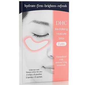Patchs Revitalisants Yeux Revitalizing Moisture Strip Eyes DHC – 6 sachets