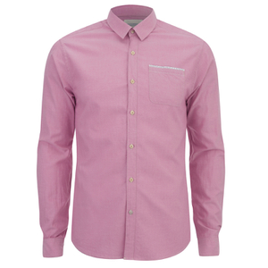 Scotch & Soda Men's Oxford One Pocket Shirt - Pink