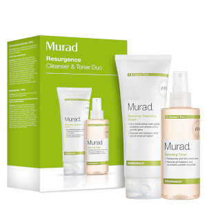 Murad Renewing Cleansing Cream and Hydrating Toner Duo (värt £ 50)