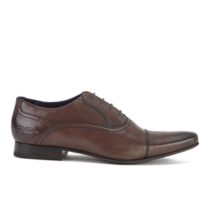 Ted Baker Men's Rogrr 2 Leather Toe-Cap Oxford Shoes - Brown