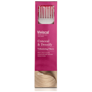 Viviscal Hair Thickening Fibres for Women -hoitopakkaus ‒ vaalea