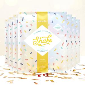 Rhabarber Vanillepudding Shake (7er Box)