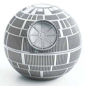 Royal Selangor Star Wars Death Star Pewter Trinket Box
