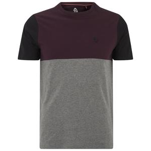 Luke Men's Kayne Crew Neck T-Shirt - Lux Port