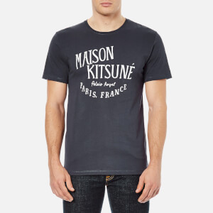 Maison Kitsuné Men's Palais Royal T-Shirt - Navy
