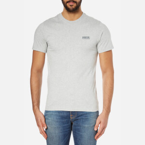 Barbour International Men's Small Logo T-Shirt - Grey Marl