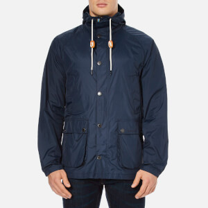 Barbour Men's Hooded Bedale Jacket - Navy