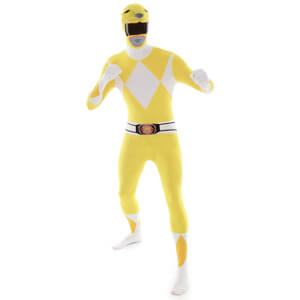 Morphsuit Adults Power Rangers Yellow