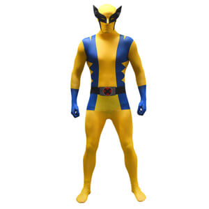 Morphsuit Adults' Marvel Wolverine - Yellow