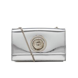 Versus Versace Women's Metallic Shoulder Bag - Silver