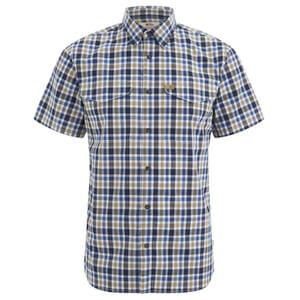 Fjallraven Men's Ovik Short Sleeve Shirt - Dark Navy
