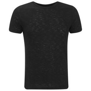 J.Lindeberg Men's Crew Neck T-Shirt - Black