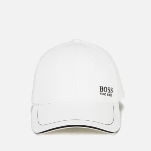 BOSS Green Men's Small Logo Cap - White