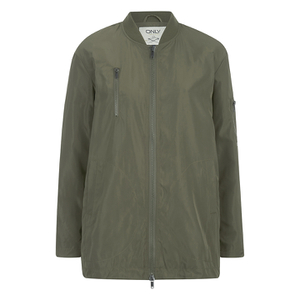 ONLY Women's Lori Nylon Jacket - Tarmac