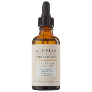 Aurelia Probiotic Skincare Cell Repair Night Oil olejek do twarzy na noc 50 ml