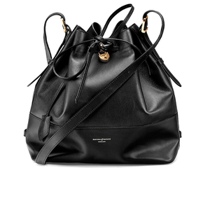 Aspinal of London Women's Padlock Large Duffle Bag - Black