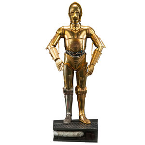 Sideshow Collectibles Star Wars Premium C-3PO 18 Inch Figure