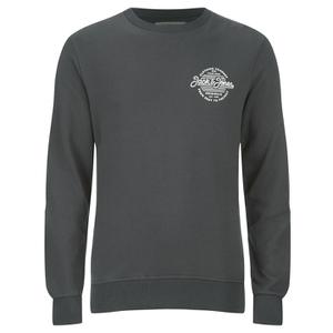 Jack & Jones Men's Originals Smooth Sweatshirt - Raven