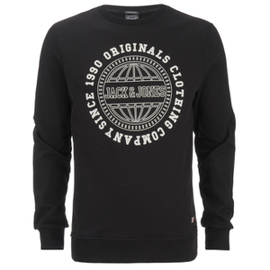 Jack & Jones Men's Originals Steven Sweatshirt - Black