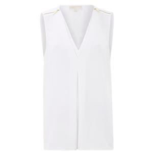 MICHAEL MICHAEL KORS Women's Double Layer Tank Vest - White
