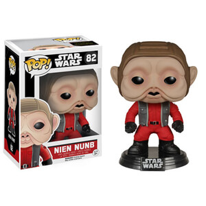 Figura Pop! Vinyl Bobble Head Nien Nunb - Star Wars: Episodio VII