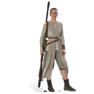 Star Wars The Force Awakens Rey Life Size Cut Out