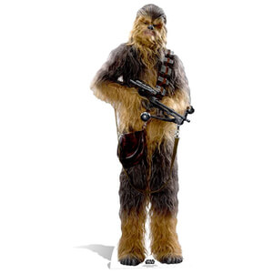 Star Wars The Force Awakens Chewbacca Kartonnen Figuur