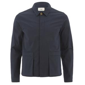 Folk Men's Pocket Detail Jacket - Navy