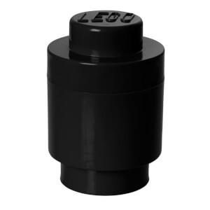 Brique de rangement LEGO® noire 1 tenon