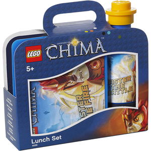 Set de Almuerzo LEGO La Leyenda de Chima (Cantimplora + Tupper Lunch Box)